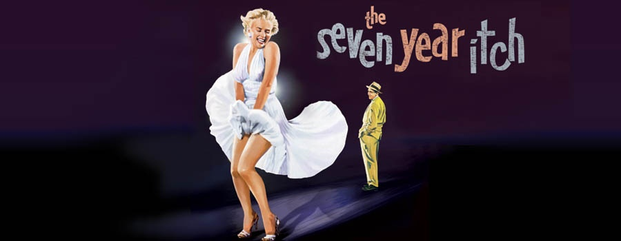Marylin Monroe starred in 'The Seven Year Itch'.
