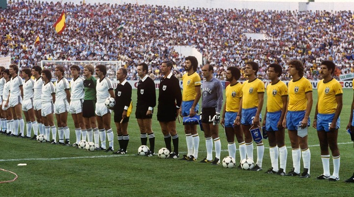 That's my favourite team lining up against Brazil in 1982.