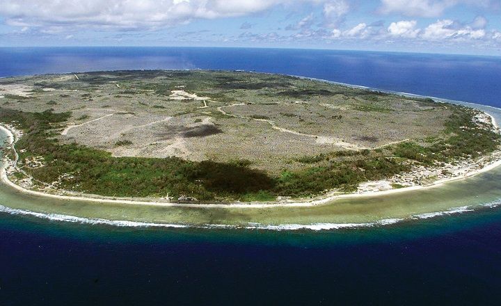 Nauru - Formerly known as Pleasant Island...