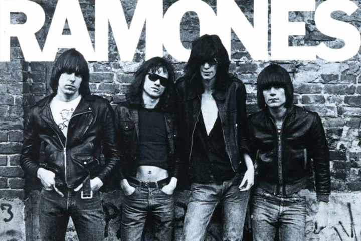 The Ramones - They all had the same surname...but they weren't brothers.