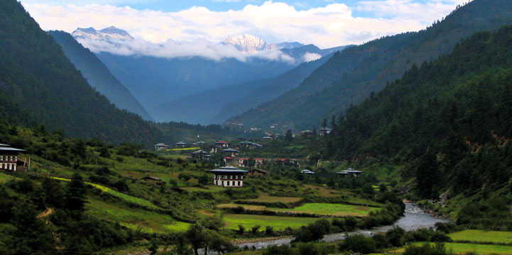 Bhutan and the picturesque Haa Valley.