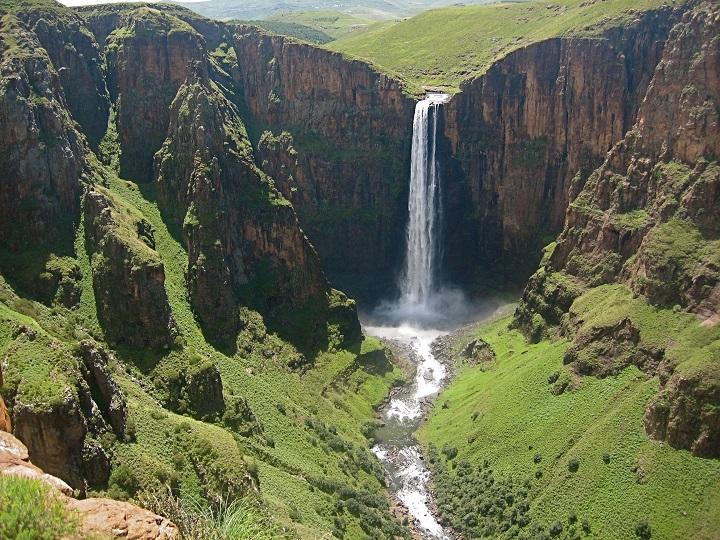 Lesotho - The Maletsunyane Falls.
