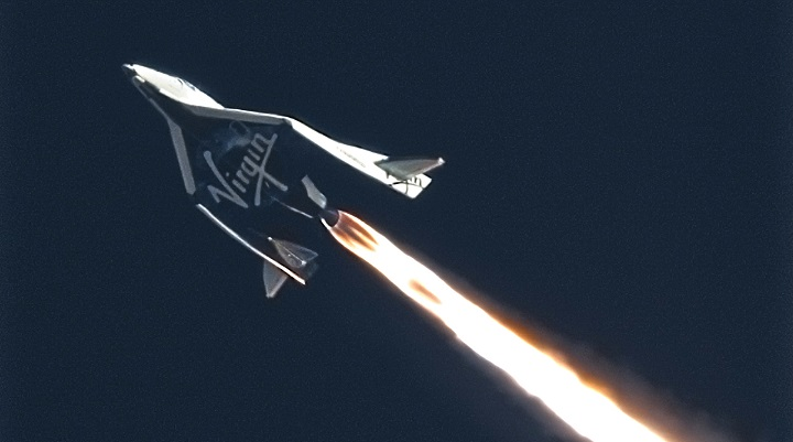SpaceshipTwo - Lost on October 31st 2014.
