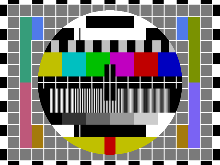 TVNZ Test Pattern - The most watched late night TV program - ever!